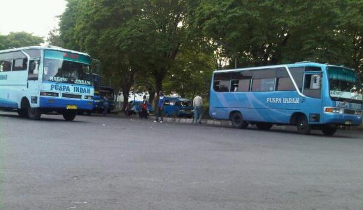 bus puspa indah dari malang ke kediri